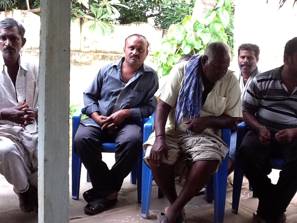 Farmers in coastal Andhra talk about farm information needs.